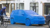 Chevrolet Orlando Play-Doh sculpture appears in London 09.03.2011