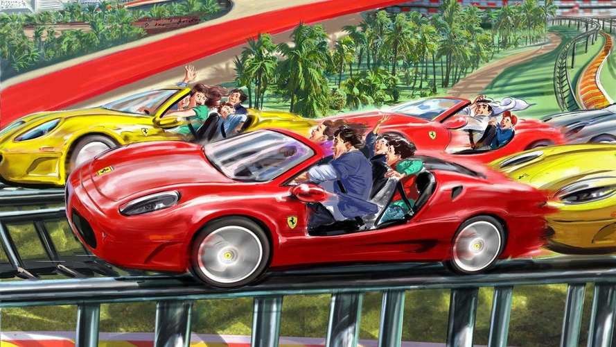 Ferrari World Abu Dhabi reveals attractions and rides