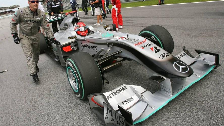 Mercedes signs new sponsor, no announcement