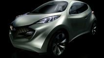 Hyundai ix-Metro Electric Hybrid CUV Concept