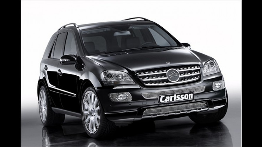 Carlsson: Mehr Diesel-Power in der Mercedes M-Klasse
