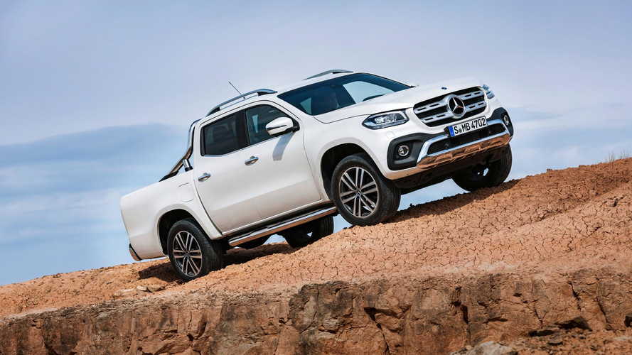 Mercedes Says No To AMG X-Class … For Now