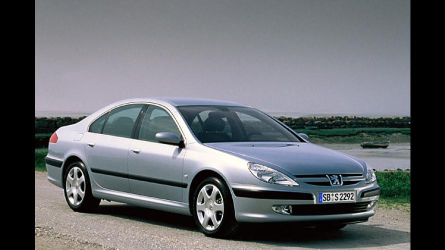 Peugeot 607: Ausstattung für über 2.800 Euro gratis