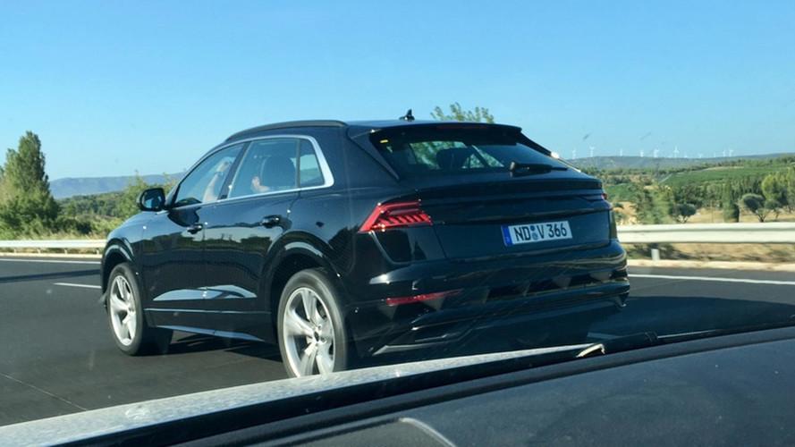 Audi Q8 neredeyse kamuflajsız yakalandı
