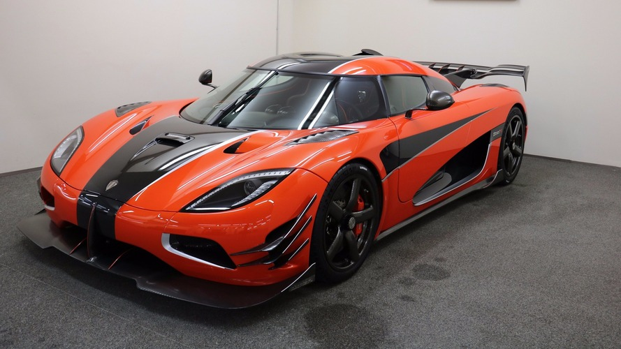 Ultra-rare Koenigsegg Agera One of 1 comes up for sale