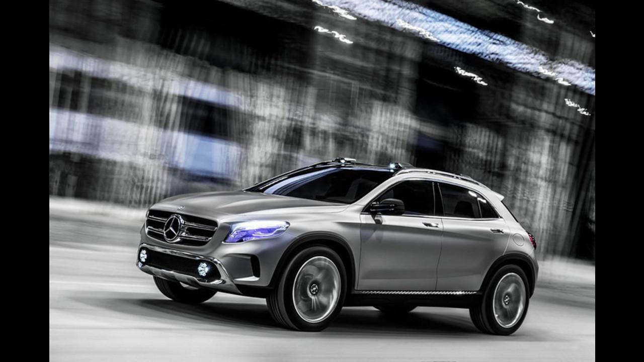 Mercedes GLA Concept: prime foto